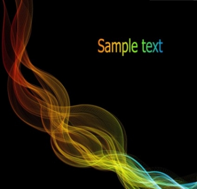 Free vector Vector background  energetic and colorful flow lines background 04 vector
