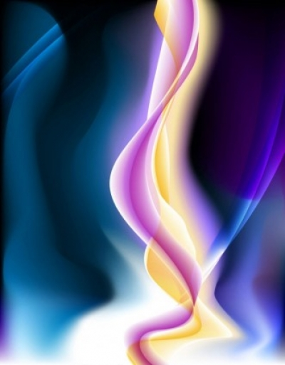 Free vector Vector background  energetic and colorful flow lines background 05 vector