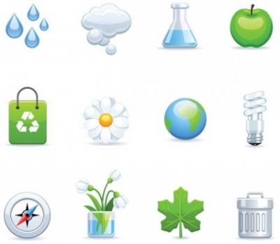 Free vector Vector icon  environmental icon vector