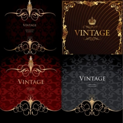 Free vector Vector background  european gorgeous background pattern vector