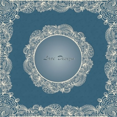 Free vector Vector background  european lace pattern background 01 vector
