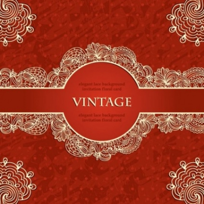 Free vector Vector background  european lace pattern background 02 vector