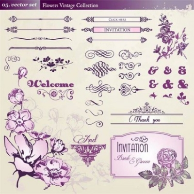 Free vector Vector pattern  european retro floral lace pattern vector 1