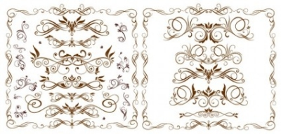 Free vector Vector pattern  europeanstyle lace pattern vector fashion