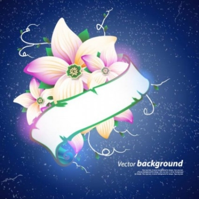 Free vector Vector background  exquisite floral design background 04 vector