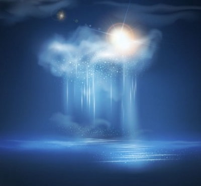 Free vector Vector background  Exquisite thunderstorms background