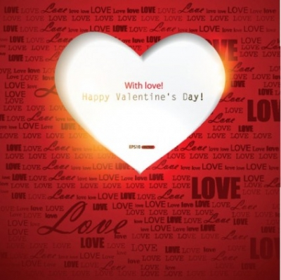 Free vector Vector Heart  exquisite valentine's day greeting cards 02 vector