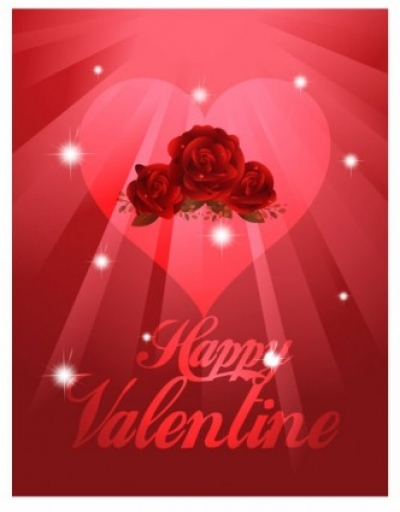 Free vector Vector background  exquisite valentine background 01 vector