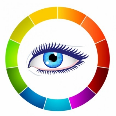 Free vector Vector misc  Eye and color wheel
