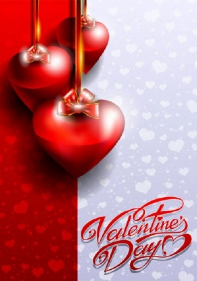 Free vector Vector Heart  fancy valentine39s day greeting card 03 vector
