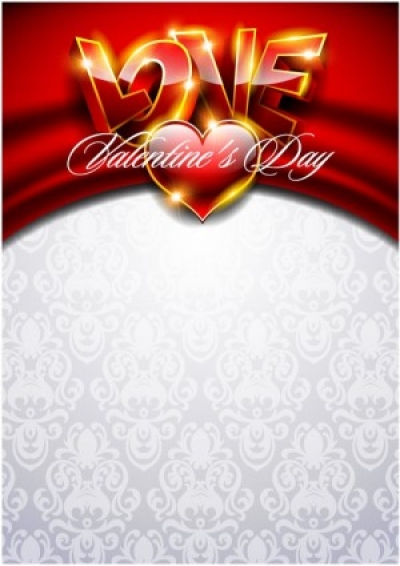 Free vector Vector background  fancy valentine background 03 vector