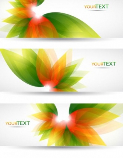 Free vector Vector banner  fantasy flowers background banner template vector 4