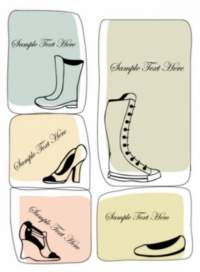 Free vector Vector misc  fashion boots illustrator 04 vector