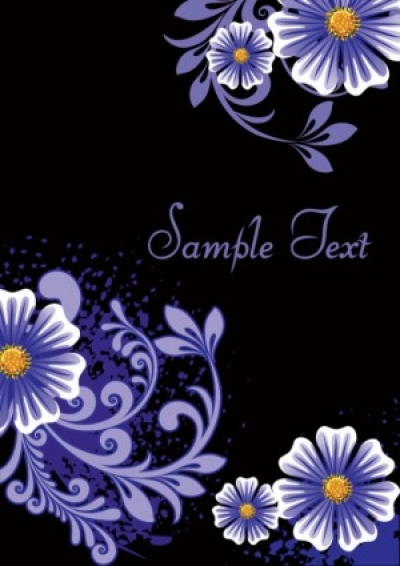 Free vector Vector background  fashion floral background 03 vector