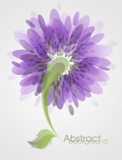 Free vector Vector flower  fashion flowers vector 3