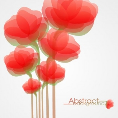 Free vector Vector flower  fashion flowers vector 4