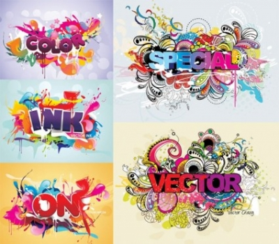 Free vector Vector misc  fashion font design vector