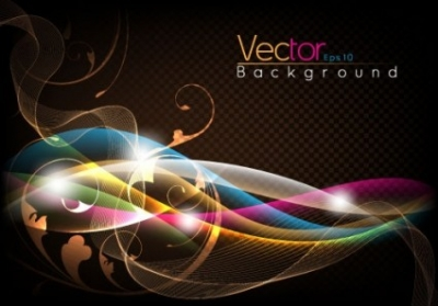 Free vector Vector background  fashion halo dynamic background 03 vector