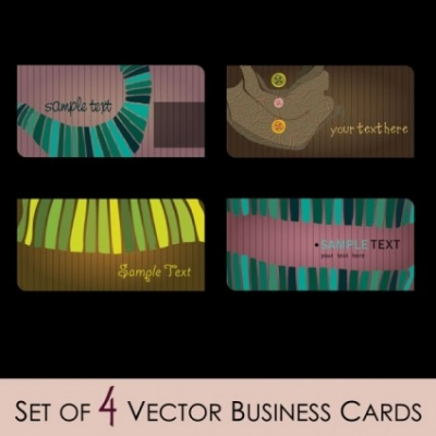 Free vector Vector misc  fashion illustrator business card 01 vector
