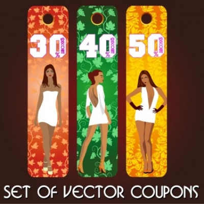 Free vector Vector misc  fashion label 03 vector