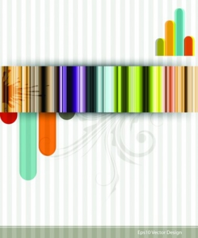 Free vector Vector background  Fashion striped background