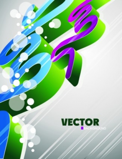 Free vector Vector background  fashion threedimensional geometric vector background