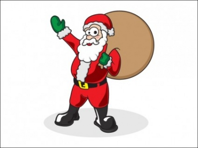 Free vector Vector Christmas   								Father Christmas