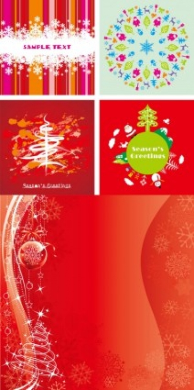 Free vector Vector background  festive christmas card background vector