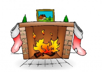 Free vector Vector clip art  Fire Place