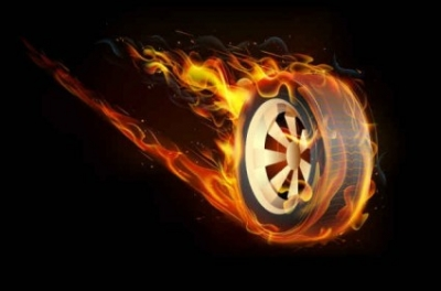 Free vector Vector background  Flame tires Vector Background