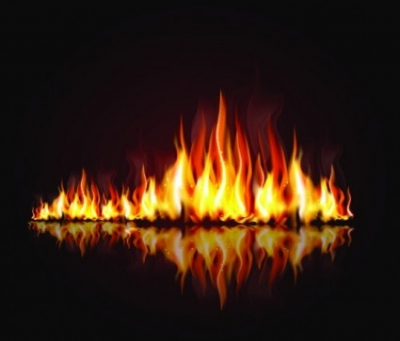 Free vector Vector background  Flames decorative background vector