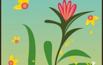 Free vector Vector floral  floral