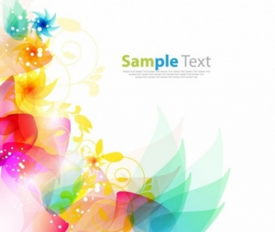 Free vector Vector floral  Floral Abstract Background