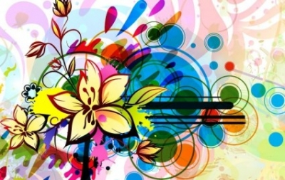 Free vector Vector floral  Floral Background