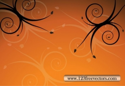 Free vector Vector flower  Floral Background Vector