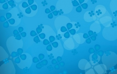 Free vector Vector floral  Floral blue vector background