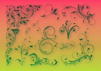 Free vector Vector floral  Floral Decoration Graphics