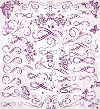 Free vector Vector misc  Floral Decorations