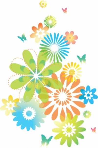Free vector Vector flower  Floral design element