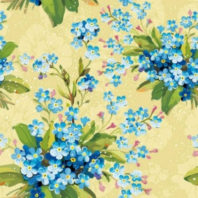 Free vector Vector background  Floral Flowers background