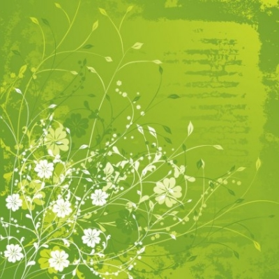 Free vector Vector floral  Floral Green Vector Illustration