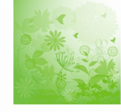 Free vector Vector background  Floral Grunge Background
