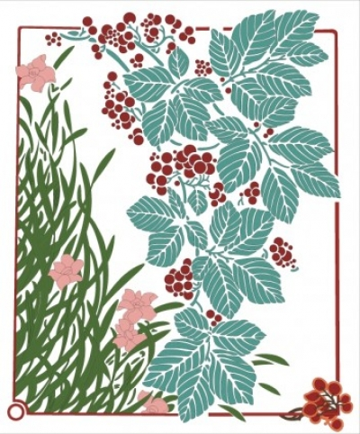 Free vector Vector plant  Floral illustration