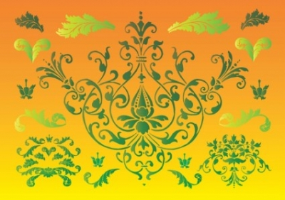 Free vector Vector floral  Floral Nature Graphics