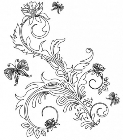 Free vector Vector flower  Floral Ornaments 2
