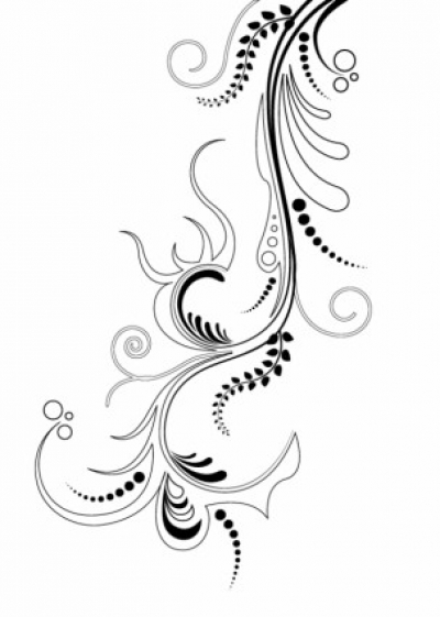 Free vector Vector flower  Floral Ornaments 4