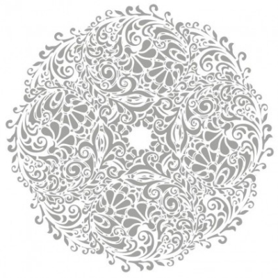 Free vector Vector floral  Floral Round Background Vector Illustration