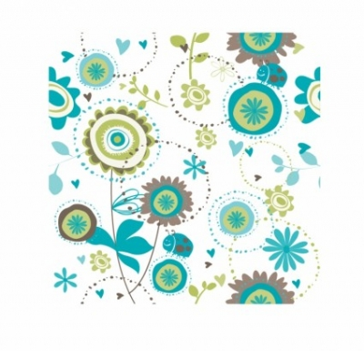 Free vector Vector pattern  Floral seamless pattern