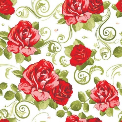 Free vector Vector background  Floral seamless pattern background