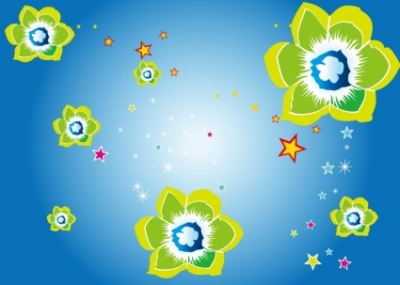 Free vector Vector flower  Floral Vector Background